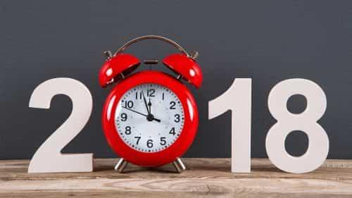 2018 esta chegando você esta preparado