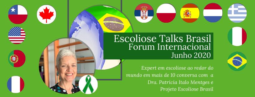 Escoliose talks Brasil fórum Internacional